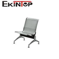 Stainless steel airport hospital lounge seating chairs