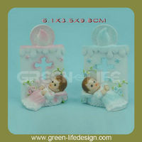 Polyresin Baby birth souvenir