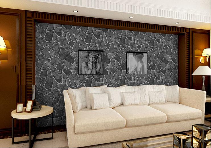 Vinyl Behang Badkamer. Gallery Of Behang Design Tegel Mozaek Edem ...