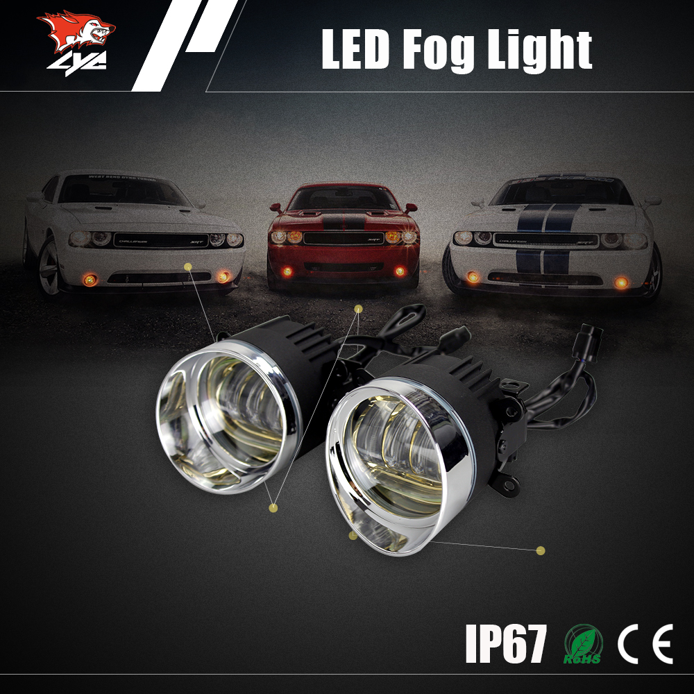 high power 30W cob drl car led Daytime Running Light fog driving daylight <strong>auto</strong>