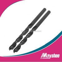 Plastic Pipe Packing HSS Black Reduced Shank Drill Bit