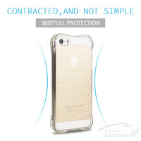 Taoyuan Top quality bulk case for iphone 5 transparent case