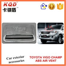 Toyota 4*4 accessories ABS air vent cover for hilux vigo 2012 pickup