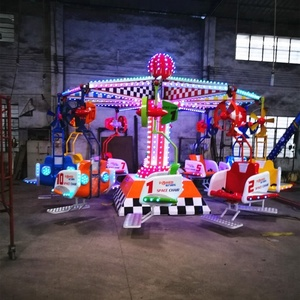 20P amusement park Space Chair fairground rides for sale