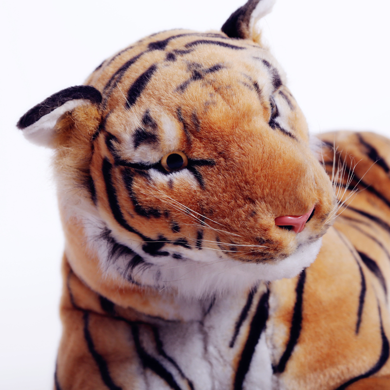 china supplier high quality custom cute tiger plush toy