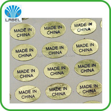 custom paper usb labels adhesive label stickers