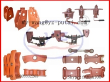 semi trailer truck mechanical air suspension spare parts