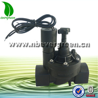 garden manual irrigation solenoid valves with flow control