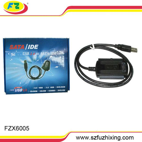 High Quality USB2.0 to 2.5/3.5'' SATA & IDE Cable