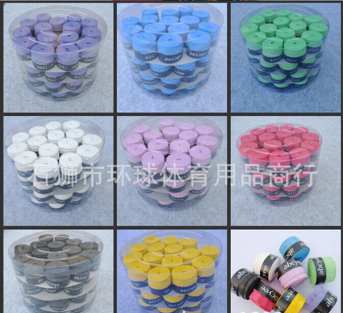 5 color dry badminton sweatband / tennis racket hand gel Overgrip frosted tape