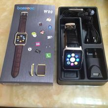 KOMAY new arrival smart watch phone W90 1.5 inch capacitive screen bluetooth camera watch phone