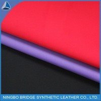 PU leather for rain coat,water proof quality