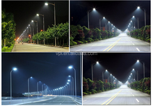 60w 120w 150w 240w 300w led street light price list top quality DLC ETL approved led solar street light