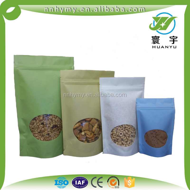 hottest sale customize plastic standup pouch small packaging bags for nut