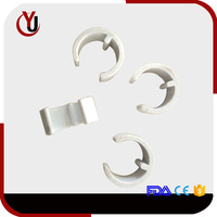 C type pipe series plastic wall cable clamp