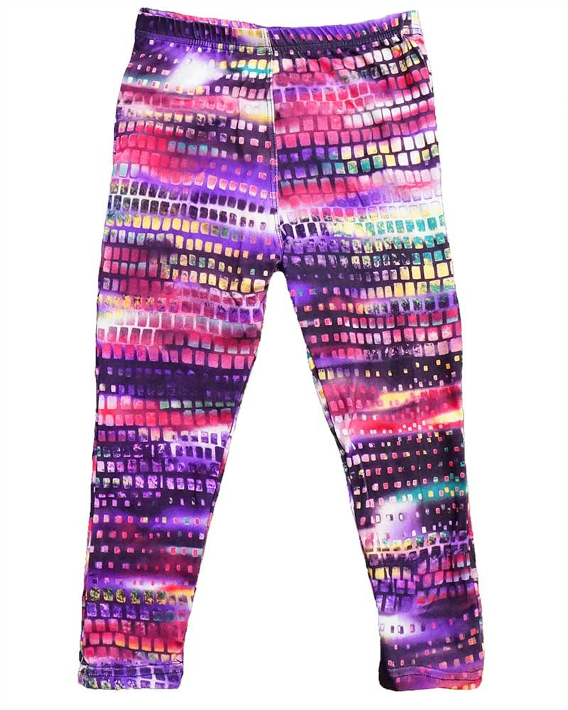 Kids Leggings Children Cut and Sew Printed Leggings