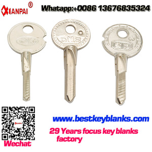 E138 Best quality Brass cheap House key blank made in china door Blank key wholesale