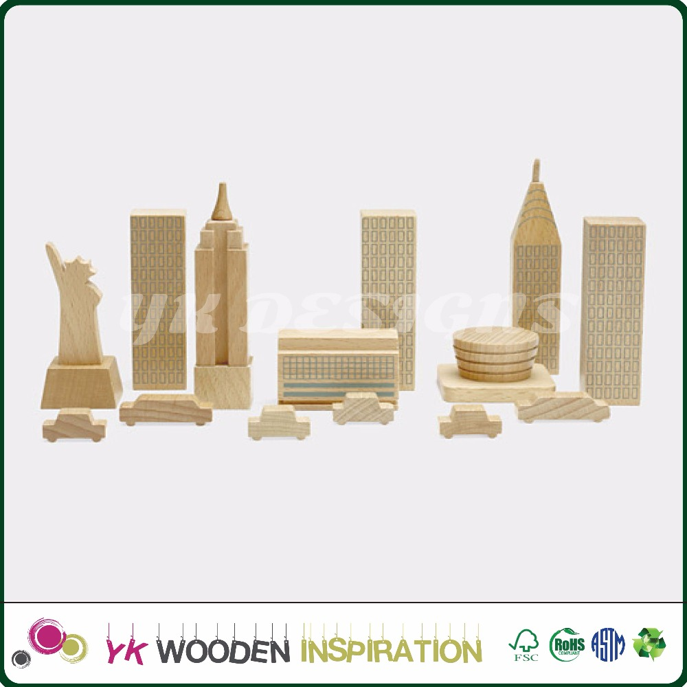 sample only <strong>wood</strong> city (New York) <strong>Wood</strong> Blocks Cityscape Complete