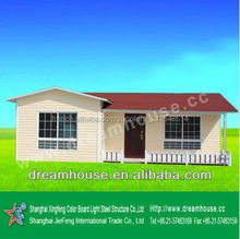 cheaper Sandwich Panel House /affordable house low cost modular home /Prefabricated Houses price