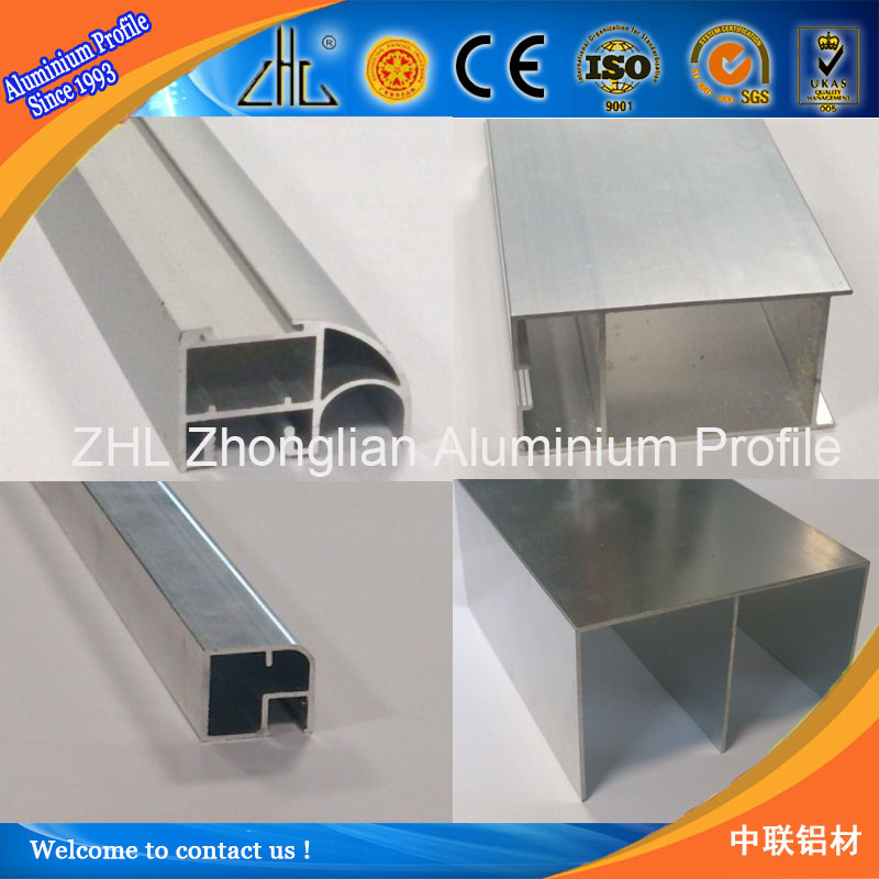 Factory supply aluminum window extrusion profile with u shape aluminum channel extrusion, I shape F profile aluminum channel