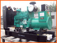 375KVA open type turbocharged quality diesel generator with Cummins engine NTAA855-G7
