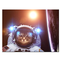 Animal Astronaut Fashion PhotoPrint on Canvas HD Giclee Print Home Wall Decor Canvas Printing Ready to Hang