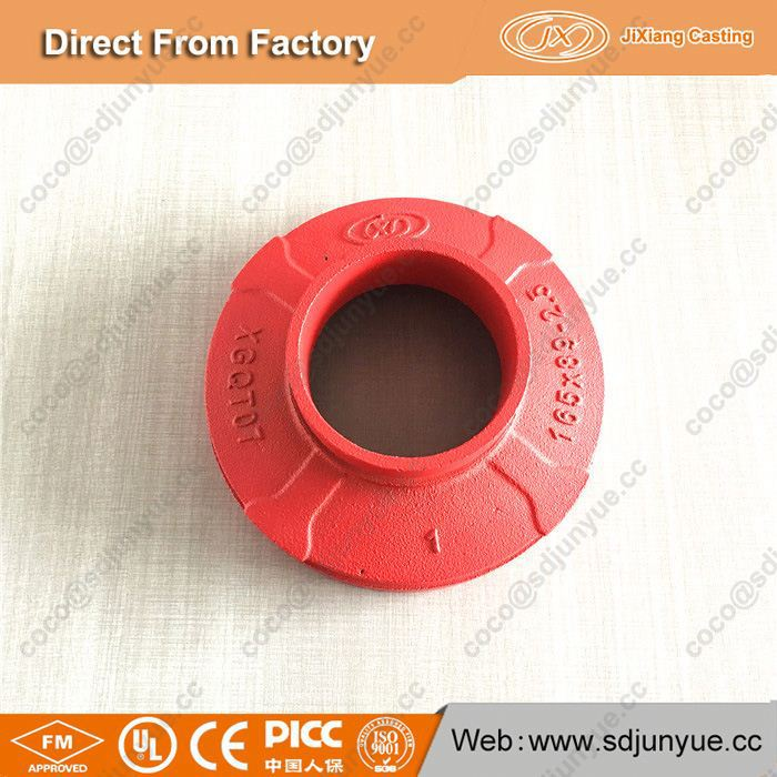 FM /UL Approved Ductile Iron Grooved concentric pipe reducer
