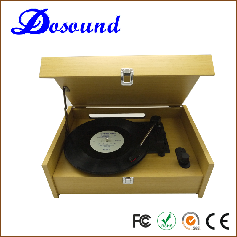 Wholesale simple 3 speed vinyl record turntable player for display and dj playing function