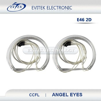 motorcycle headlight with led angel eye / round 40w led angel eye head lamp/round headlight with angel eyes high low beam