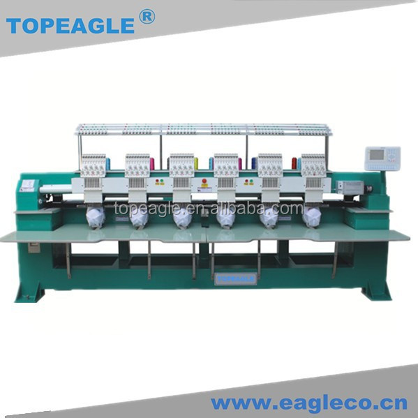 TOPEAGLE TEM-C906 high quality 9 needle computer embroidery machine price
