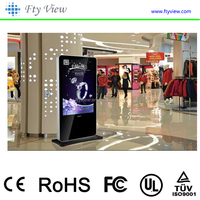 Floor Stand Digital Signage Lcd Display