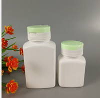wholesale 150ML hot sale plastic candy bottle,150ml candy bottles, PE chewing gum bottle with tear off cap,China