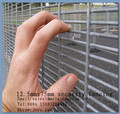 "China factory supplying 8 guage 0.5""x3"" mesh count edge protective barrier 358 security fencing anti climb mesh panels"