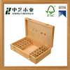 custom handmade decorative promotion china suppliers cheap wooden essential oil box essential oil packing box