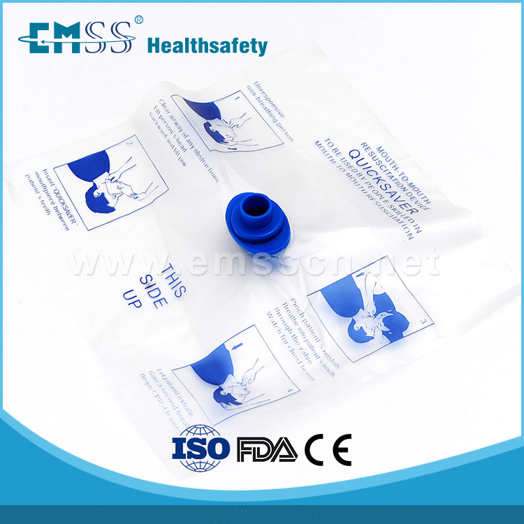 Wholesale EH-001 adult disposable one-way valve CPR mask