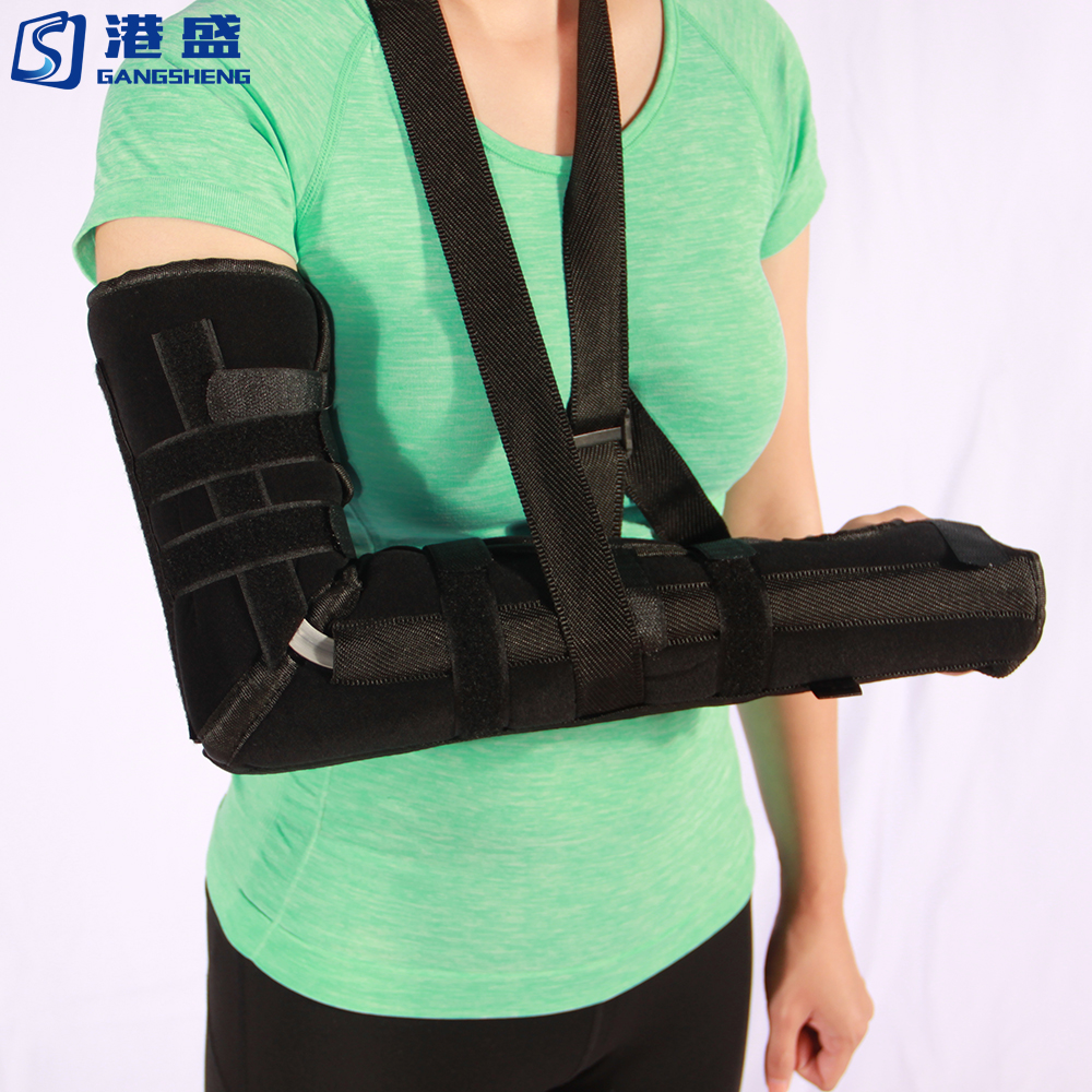 Arm orthopedic forearm shoulder slings medical elbow support brace for fractured post operative immobilization