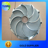 Tuopu stainless steel small water pump impellers,water pump impeller design