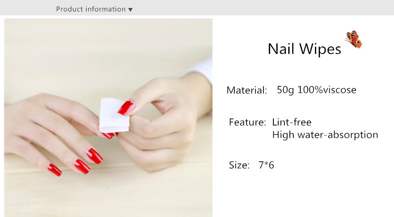 Private Label Nail Remover Wraps made in China