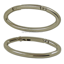 Metal Oval Spring O ring Buckle