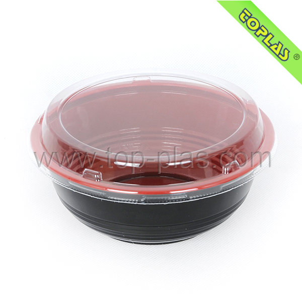 Disposable Plastic Japanese Noodle Take Out Boxes