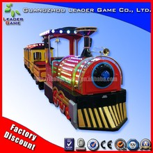 Electric mini train ride with track amusement miniature trains for sale