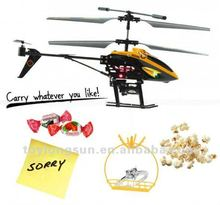 electric mini high speed radio control helicopter