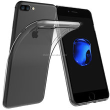 2016 New 0.3mm Crystal Clear Soft Silicone Transparent TPU Case cover for iPhone 7 7Plus 6 6S 6 Plus 5 5S 5C 4 4S