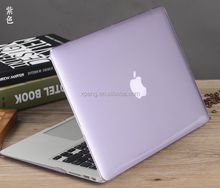 crystal clear cover for apple macbook pro for Mac book laptop bag