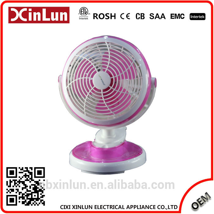 XinLun Trading Wholesale Customized mini fan with 360 Degree Rotation