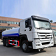 China howo 6*4 water tank truck/water tanker
