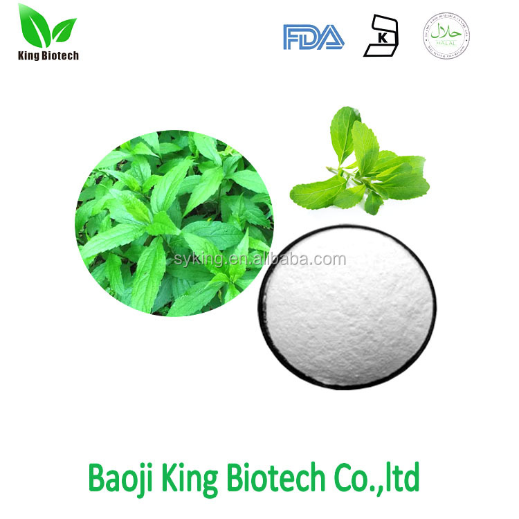 Pure stevia extract powder 98% 95% 90% steviol glycosides