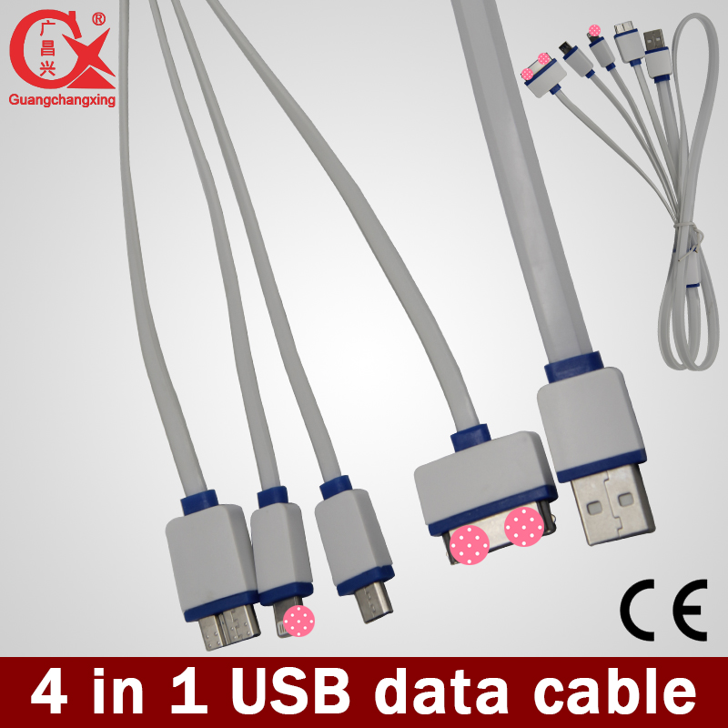 high quality mobile phone charging multi micro usb cable