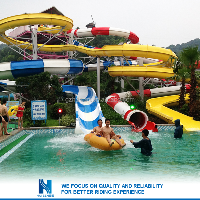 Hot sell New design used water park slide wholesale