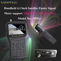 "AV Input & Output 4.3"" Handheld Satellite Finder Signal Meter with AHD and LNB Port ,DC 12V Power Output"